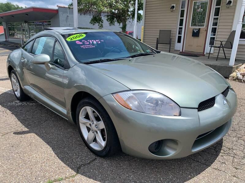 2008 Mitsubishi Eclipse for sale at G & G Auto Sales in Steubenville OH