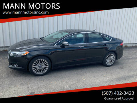 2014 Ford Fusion for sale at MANN MOTORS in Albert Lea MN