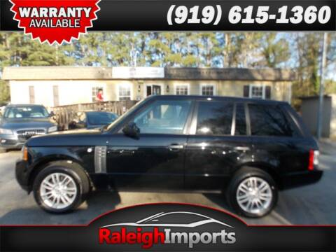 2011 Land Rover Range Rover for sale at Raleigh Imports in Raleigh NC