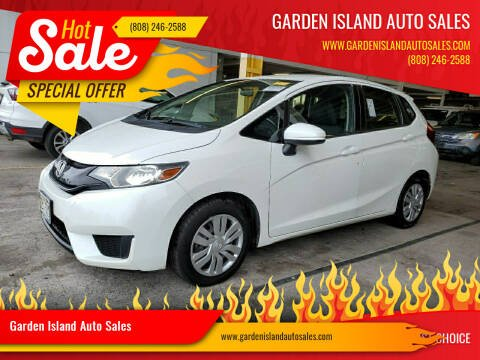 2017 Honda Fit for sale at Garden Island Auto Sales in Lihue HI