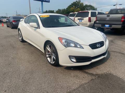 2011 Hyundai Genesis Coupe for sale at Eagle Motors in Hamilton OH