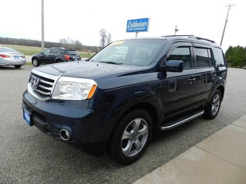 2012 Honda Pilot for sale at Leitheiser Car Company in West Bend WI