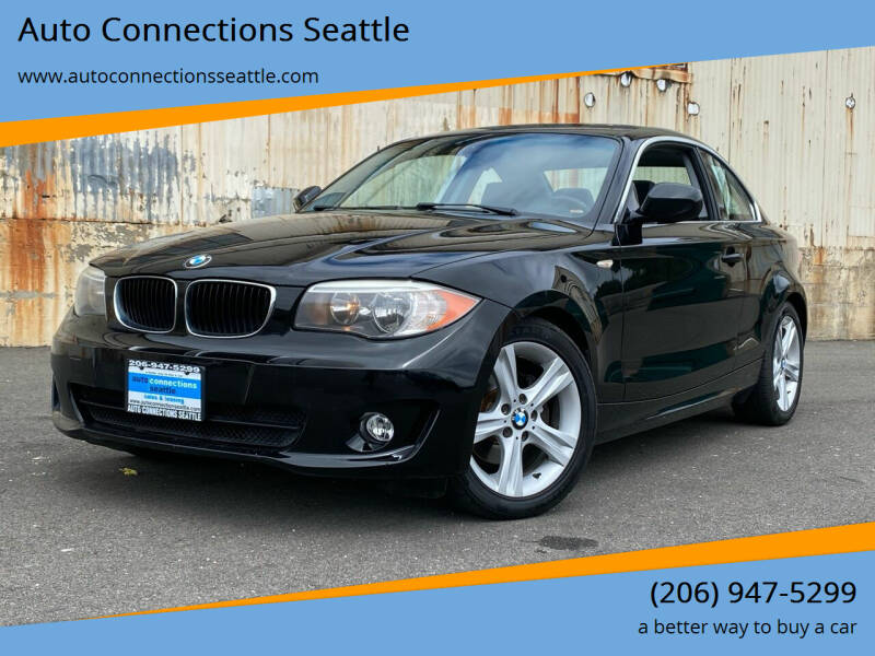 2012 BMW 1 Series for sale at Auto Connections Seattle in Seattle WA