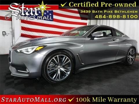 2017 Infiniti Q60 for sale at STAR AUTO MALL 512 in Bethlehem PA