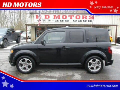 2008 Honda Element for sale at HD MOTORS in Kingsport TN