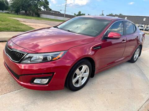 2015 Kia Optima for sale at Automay Car Sales in Oklahoma City OK