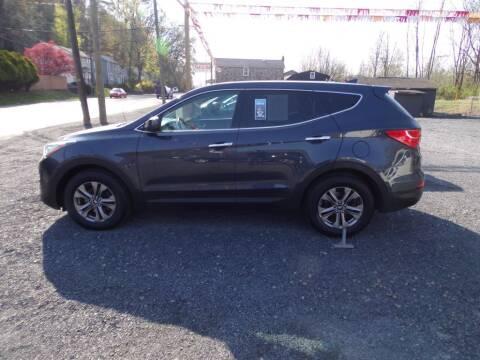 2015 Hyundai Santa Fe Sport for sale at RJ McGlynn Auto Exchange in West Nanticoke PA