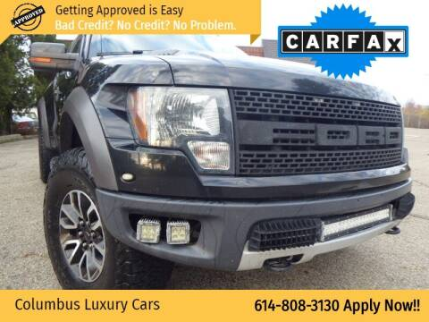 2010 Ford F-150 for sale at Columbus Luxury Cars in Columbus OH