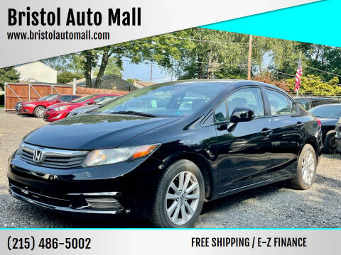 2012 Honda Civic for sale at Bristol Auto Mall in Levittown PA