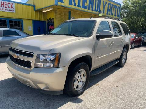 2007 Chevrolet Tahoe for sale at Friendly Auto Sales in Pasadena TX