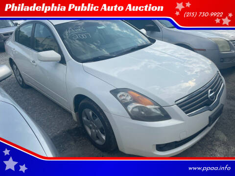 2007 Nissan Altima for sale at Philadelphia Public Auto Auction in Philadelphia PA