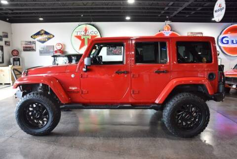 2014 Jeep Wrangler Unlimited for sale at Choice Auto & Truck Sales in Payson AZ