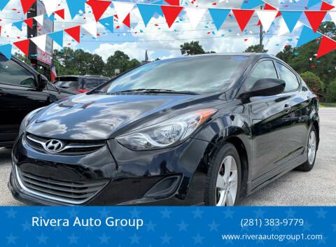 2013 Hyundai Elantra for sale at Rivera Auto Group in Spring TX