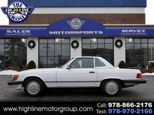 1987 Mercedes-Benz 560-Class for sale at Highline Group Motorsports in Lowell MA