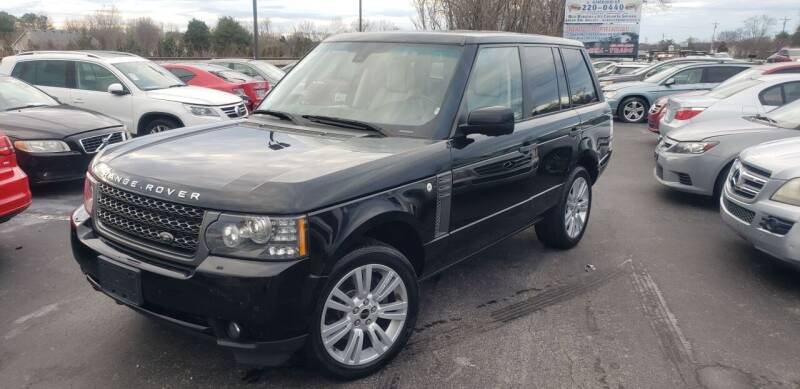 2011 Land Rover Range Rover for sale at Tennessee Auto Brokers LLC in Murfreesboro TN
