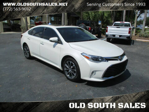 2016 Toyota Avalon for sale at OLD SOUTH SALES in Vero Beach FL