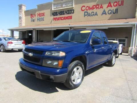 2011 Chevrolet Colorado for sale at Import Motors in Bethany OK