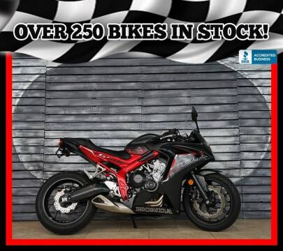 2016 Honda CBR650 for sale at AZautorv.com in Mesa AZ