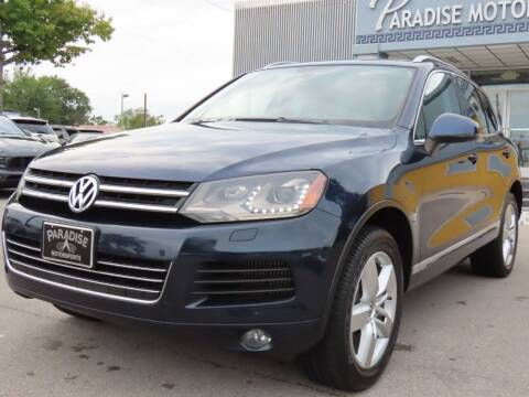 2012 Volkswagen Touareg for sale at Paradise Motor Sports LLC in Lexington KY