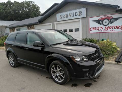 2017 Dodge Journey for sale at CRUZ'N MOTORS in Spirit Lake IA