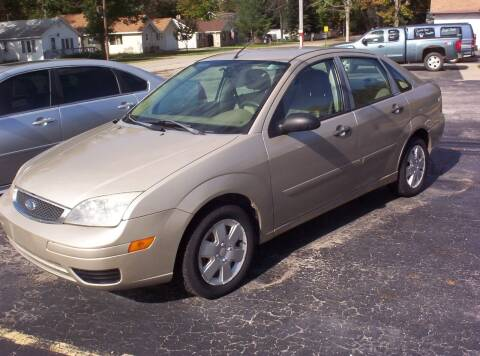 2007 Ford Focus for sale at LAKESIDE MOTORS LLC in Houghton Lake MI