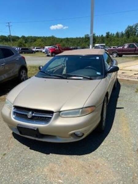 1998 Chrysler Sebring for sale in Dillwyn, VA