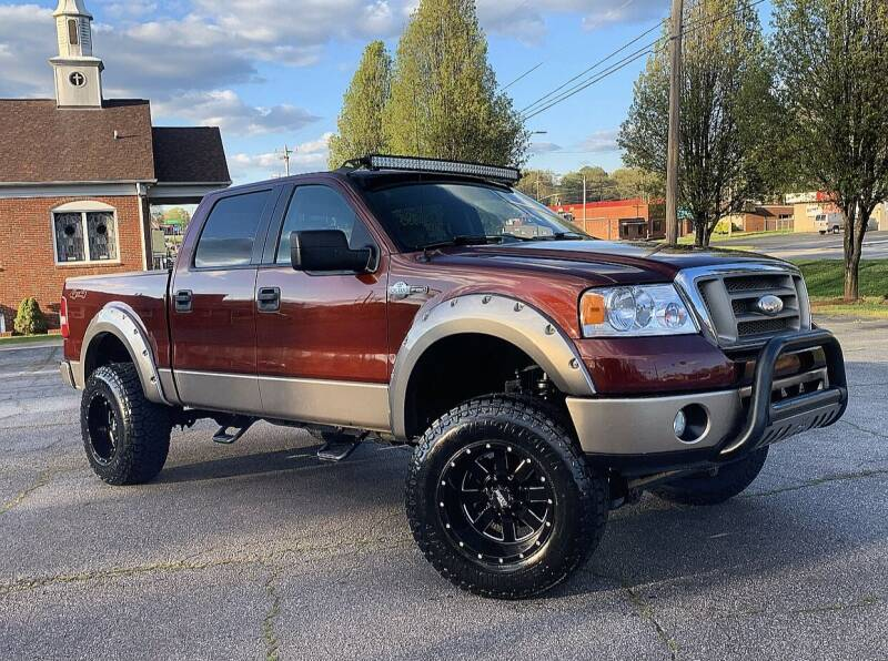 2006 Ford F-150 for sale at Mike's Wholesale Cars in Newton NC