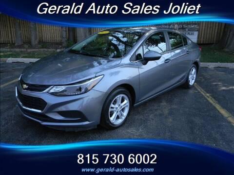 2018 Chevrolet Cruze for sale at Gerald Auto Sales in Joliet IL