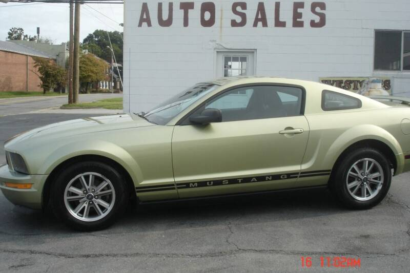 2005 Ford Mustang for sale at Weston's Auto Sales, Inc in Crewe VA