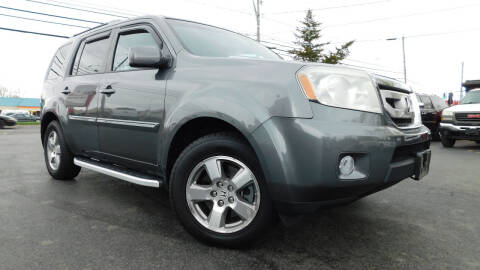2011 Honda Pilot for sale at Action Automotive Service LLC in Hudson NY