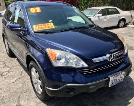 2007 Honda CR-V for sale at Eden Motor Group in Los Angeles CA