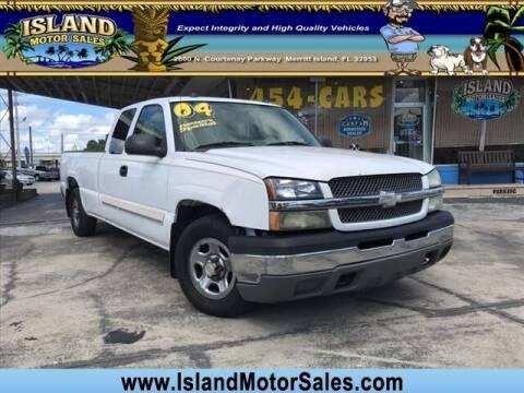 2004 Chevrolet Silverado 1500 for sale at Island Motor Sales Inc. in Merritt Island FL