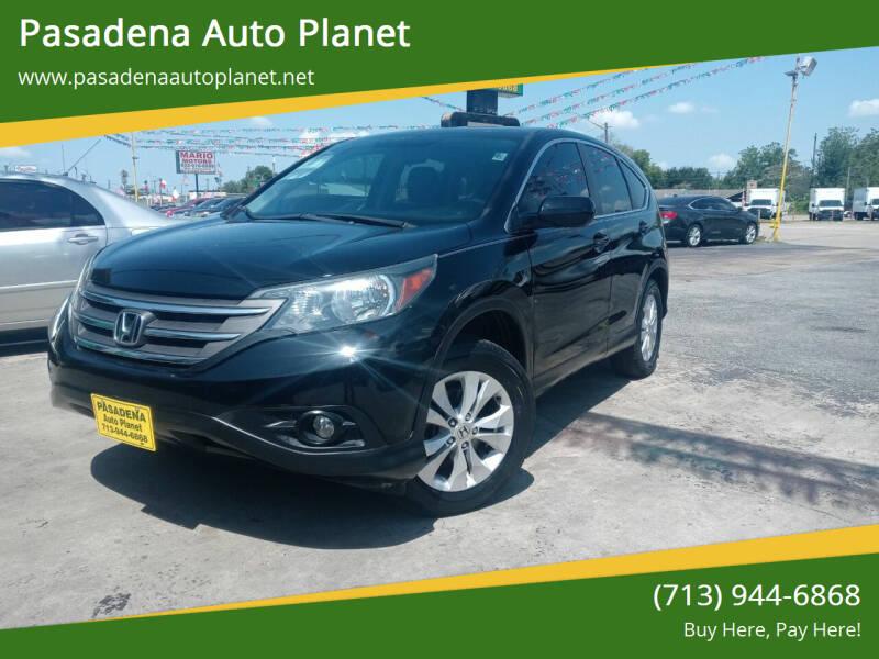 2014 Honda CR-V for sale at Pasadena Auto Planet in Houston TX