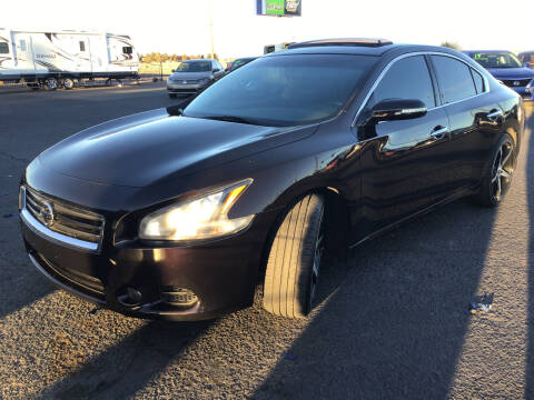 2014 Nissan Maxima for sale at SPEND-LESS AUTO in Kingman AZ