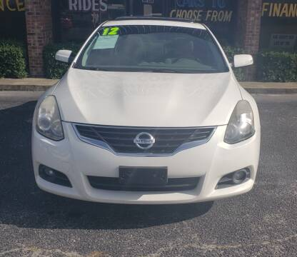 2012 Nissan Altima for sale at Greenville Motor Company in Greenville NC