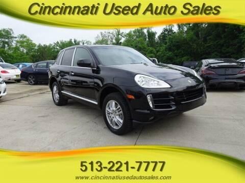 2009 Porsche Cayenne for sale at Cincinnati Used Auto Sales in Cincinnati OH