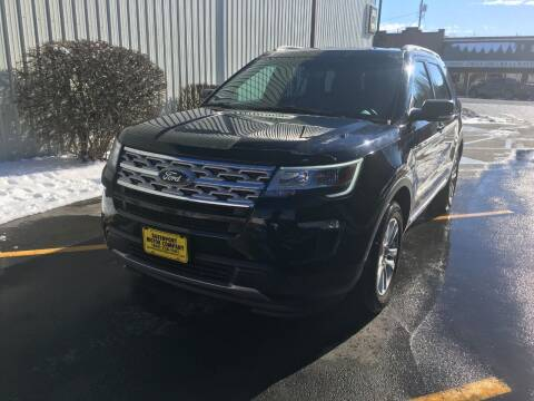 2019 Ford Explorer for sale at DAVENPORT MOTOR COMPANY in Davenport WA