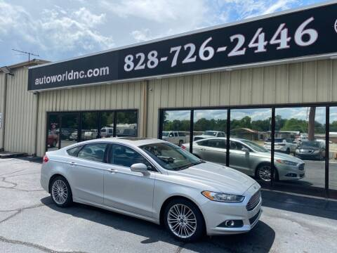 2013 Ford Fusion for sale at AutoWorld of Lenoir in Lenoir NC