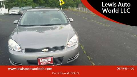 2007 Chevrolet Impala for sale at Lewis Auto World LLC in Brookville OH