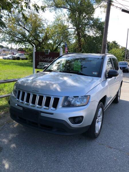 2014 Jeep Compass for sale at Jimmys Auto Sales in North Providence RI