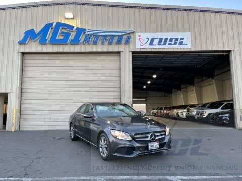 2015 Mercedes-Benz C-Class for sale at MGI Motors in Sacramento CA