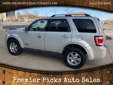2008 Ford Escape for sale at Premier Picks Auto Sales in Bettendorf IA