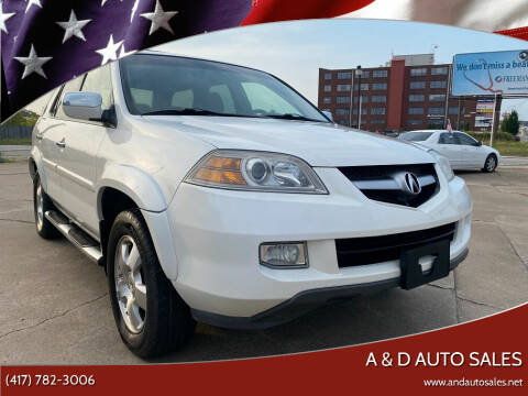 2006 Acura MDX for sale at A & D Auto Sales in Joplin MO
