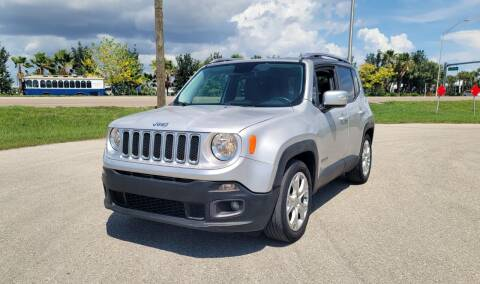 2016 Jeep Renegade for sale at FLORIDA USED CARS INC in Fort Myers FL