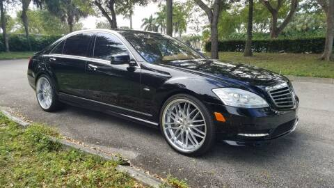 2012 Mercedes-Benz S-Class for sale at DELRAY AUTO MALL in Delray Beach FL