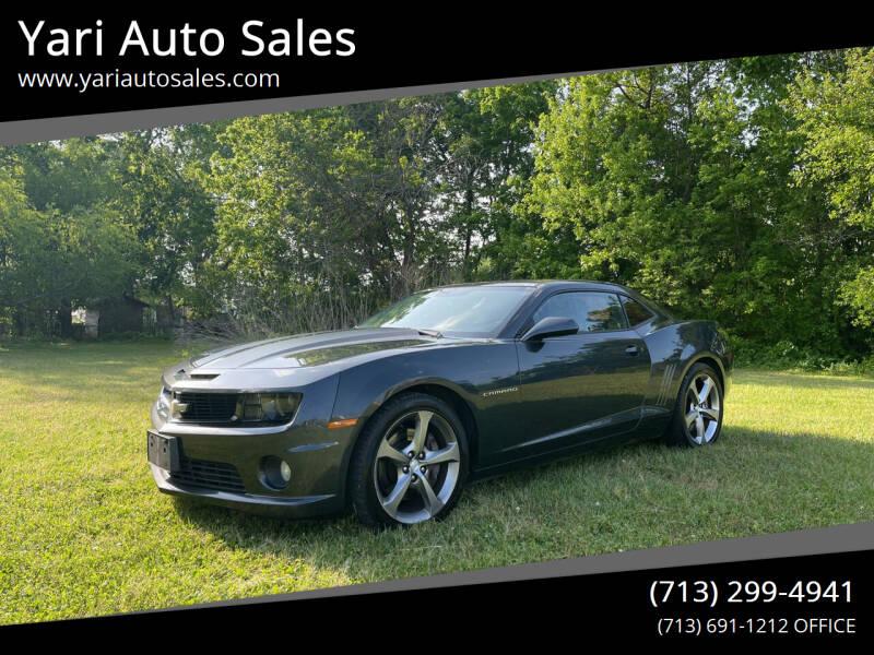 2013 Chevrolet Camaro for sale at Yari Auto Sales in Houston TX