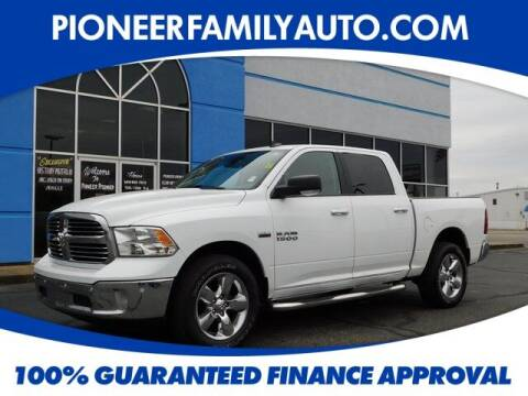 2018 RAM Ram Pickup 1500 for sale at Pioneer Family auto in Marietta OH