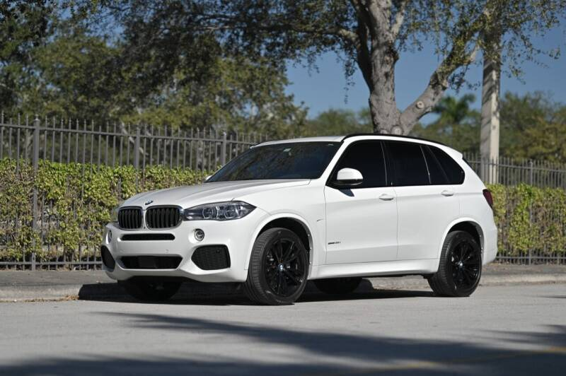 2017 BMW X5 for sale at EURO STABLE in Miami FL