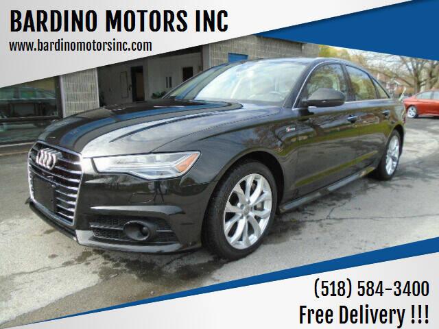2017 Audi A6 for sale at BARDINO MOTORS INC in Saratoga Springs NY