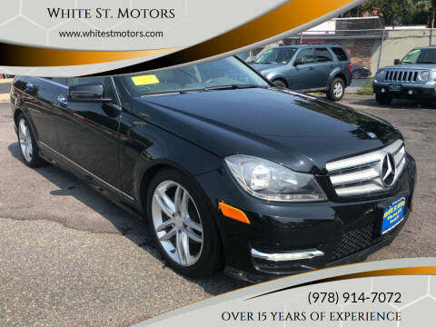 2012 Mercedes-Benz C-Class for sale at White St. Motors in Haverhill MA